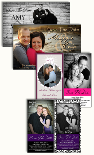 Photo Save The Date Cards